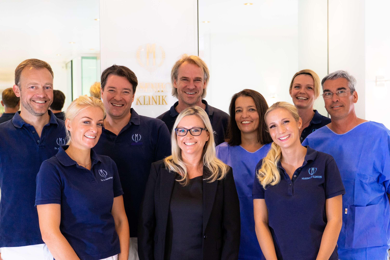 Das Team - Willkommen in der Musenhof Zahnklinik